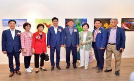 한사협 송파구지부 사진동아리 연합전 기념촬영